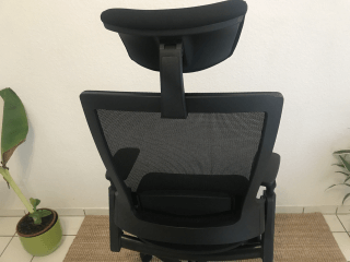Ergotopia® Nextback Test Erfahrungen Stuhl Bürostuhl