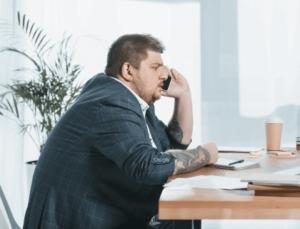 Bürostuhl für Übergewichtige
